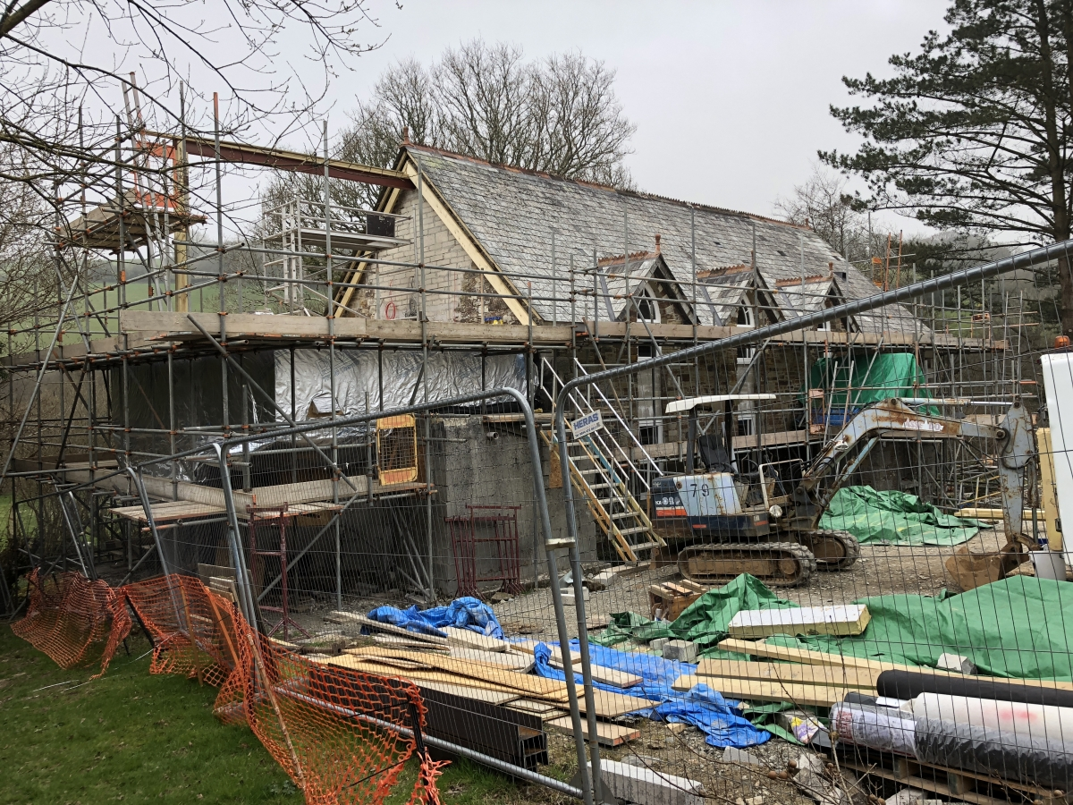 Extension underway