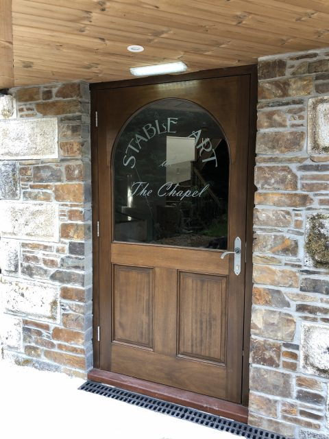 Our new front door at Stable Art!