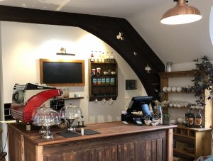 Our new cafe and coffee shop