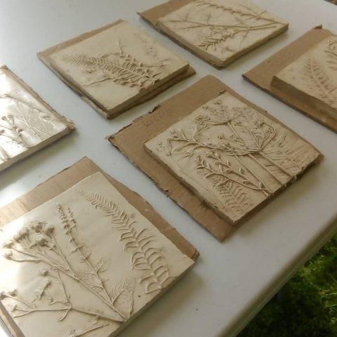Botanical Tiles workshop with Jess