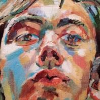 Portrait painting by Vaughan Warren