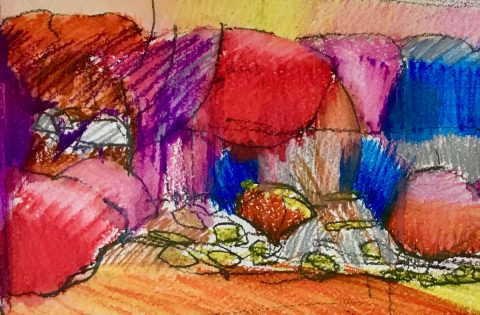 Children's art workshops with Vanessa Fawcett