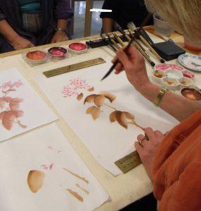 Katrina Stephens painting