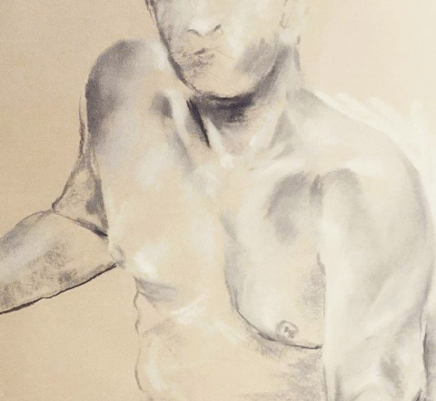 Life drawing workshop with Vanessa Fawcett