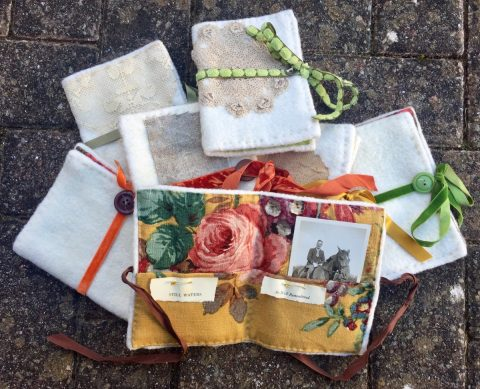 Memory book workshop with Becky Crispin